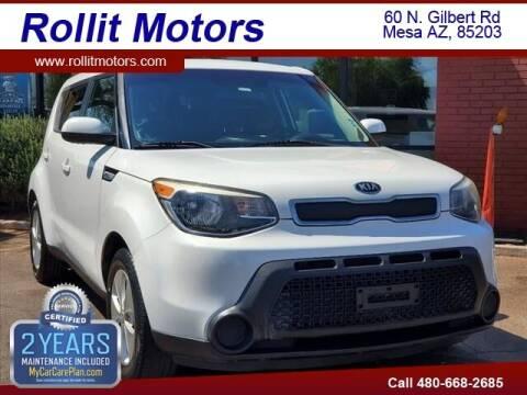 2015 Kia Soul for sale at Rollit Motors in Mesa AZ