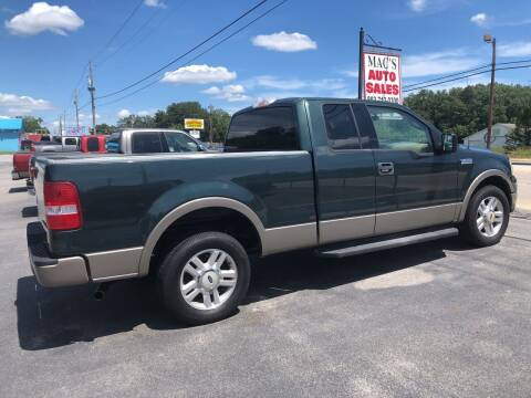 2004 Ford F-150 for sale at Mac's Auto Sales in Camden SC