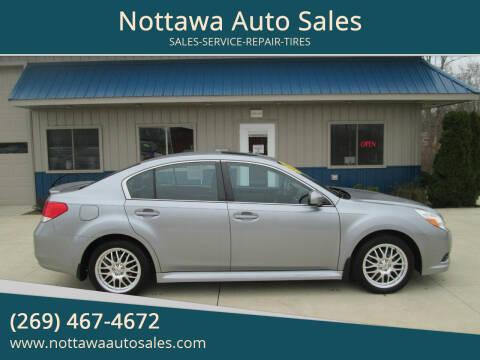 2011 Subaru Legacy for sale at Nottawa Auto Sales in Nottawa MI