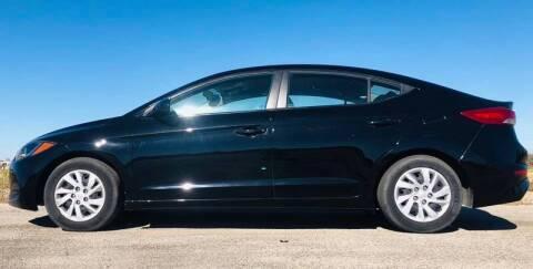 2017 Hyundai Elantra for sale at Palmer Auto Sales in Rosenberg TX