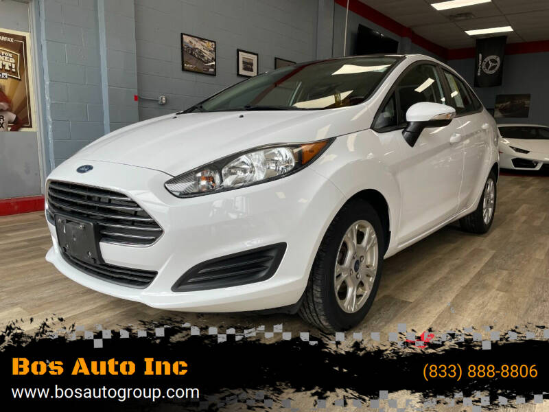 2015 Ford Fiesta for sale at Bos Auto Inc in Quincy MA