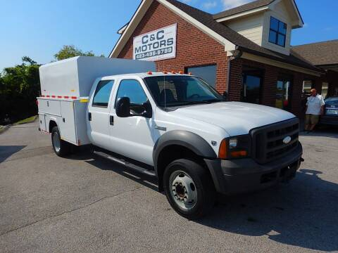 2005 Ford F-450 Super Duty for sale at C & C MOTORS in Chattanooga TN
