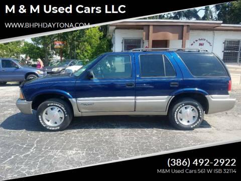 2001 GMC Jimmy for sale at M & M Used Cars LLC in Daytona Beach FL