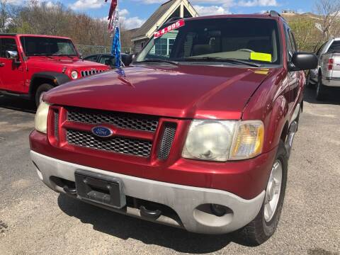 2002 Ford Explorer Sport Trac for sale at Auto Gallery in Taunton MA