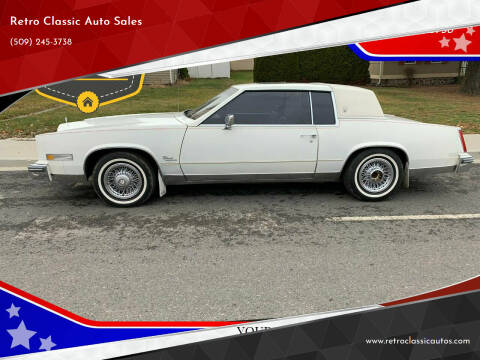 1980 Cadillac Eldorado for sale at Retro Classic Auto Sales - Classic Cars in Spangle WA