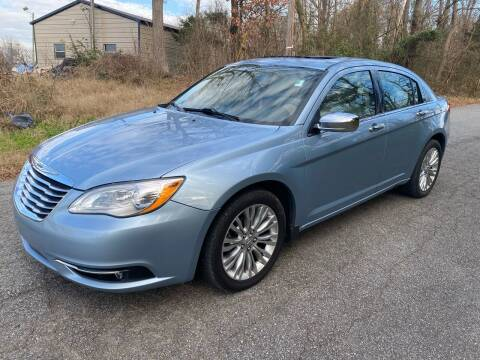 2012 Chrysler 200 for sale at Speed Auto Mall in Greensboro NC