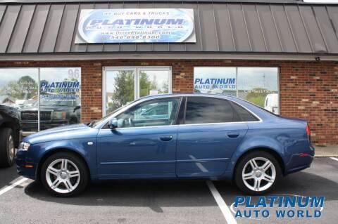 2006 Audi A4 for sale at Platinum Auto World in Fredericksburg VA