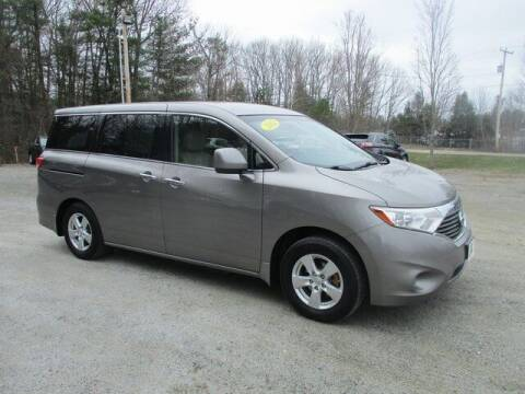 2012 Nissan Quest for sale at MC FARLAND FORD in Exeter NH