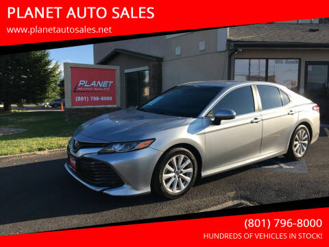 2018 Toyota Camry for sale at PLANET AUTO SALES in Lindon UT