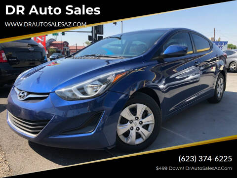 2016 Hyundai Elantra for sale at DR Auto Sales in Glendale AZ