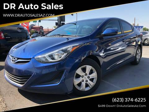 2016 Hyundai Elantra for sale at DR Auto Sales in Glendale AZ