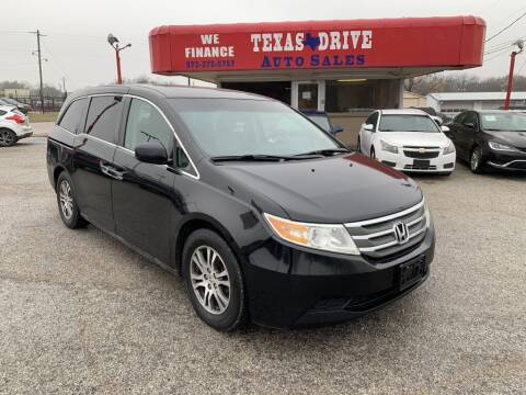 2011 Honda Odyssey for sale at Texas Drive LLC in Garland TX