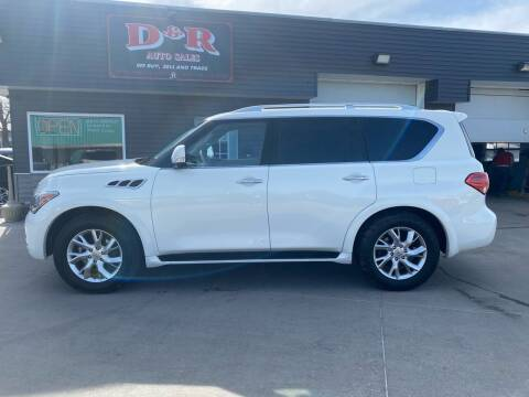 2011 Infiniti QX56 for sale at D & R Auto Sales in South Sioux City NE