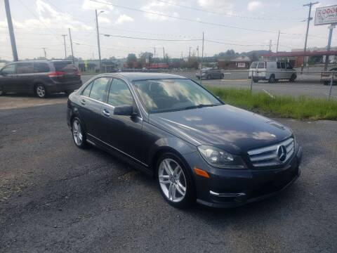 2013 Mercedes-Benz C-Class for sale at Lara's Auto Sales LLC in Concord NC