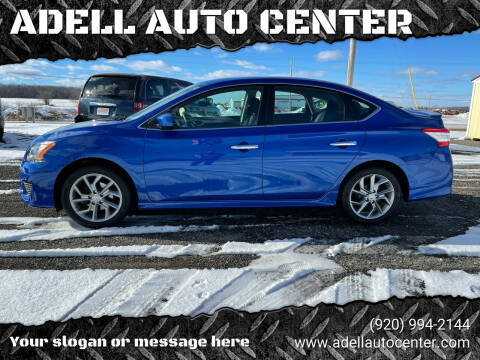 2014 Nissan Sentra for sale at ADELL AUTO CENTER in Waldo WI