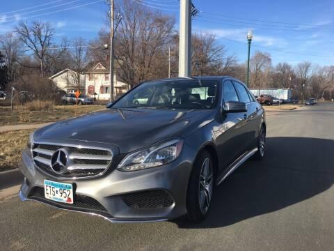 2016 Mercedes-Benz E-Class for sale at ONG Auto in Farmington MN