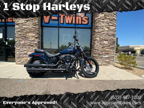 2019 HarleyDavidson FXBBStreetBob for sale at 1 Stop Harleys in Peoria AZ