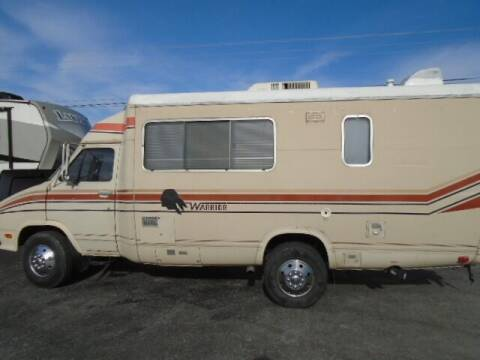 1982 Winnebago Warrior for sale at Lee RV Center in Monticello KY