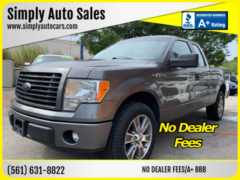 2014 Ford F-150 for sale at Simply Auto Sales in Palm Beach Gardens FL