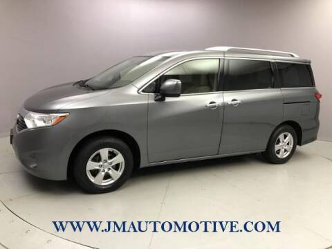 2017 Nissan Quest for sale at J & M Automotive in Naugatuck CT