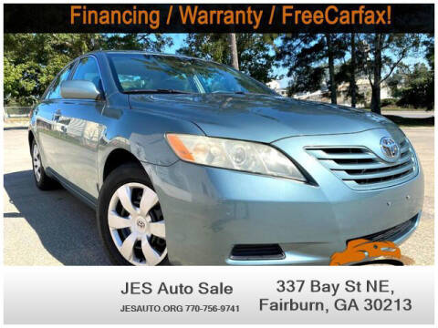 2009 Toyota Camry for sale at JES Auto Sales LLC in Fairburn GA