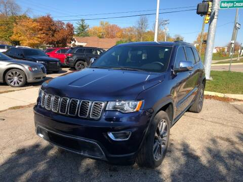 2018 Jeep Grand Cherokee for sale at One Price Auto in Mount Clemens MI