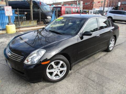 2004 Infiniti G35 for sale at 5 Stars Auto Service and Sales in Chicago IL