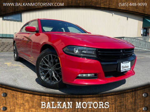 2016 Dodge Charger for sale at BALKAN MOTORS in East Rochester NY