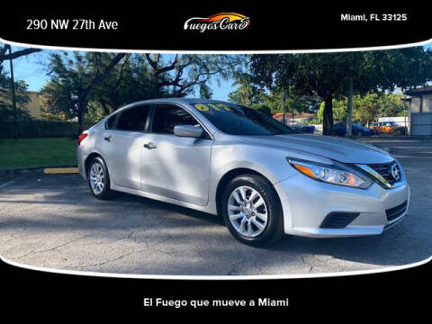 2017 Nissan Sentra for sale at Fuego's Cars in Miami FL