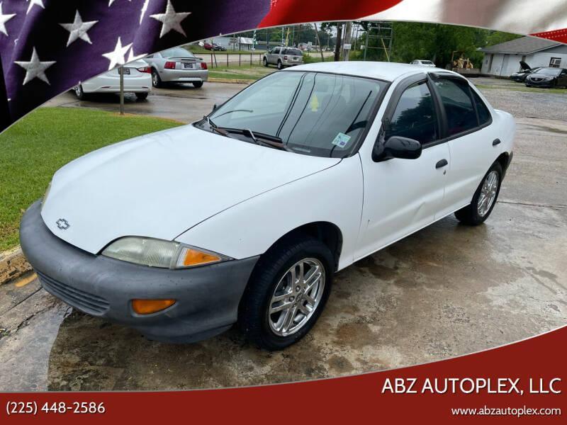 1999 Chevrolet Cavalier for sale at ABZ Autoplex, LLC in Baton Rouge LA