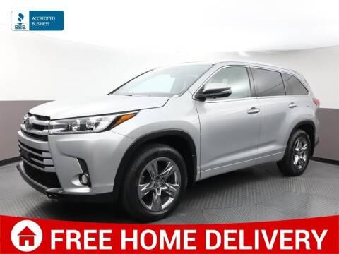 2017 Toyota Highlander for sale at Florida Fine Cars - West Palm Beach in West Palm Beach FL