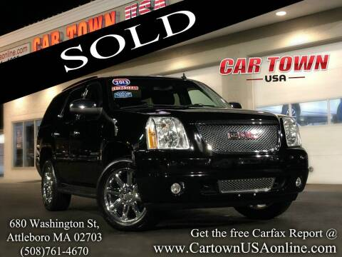 2013 GMC Yukon for sale at Car Town USA in Attleboro MA