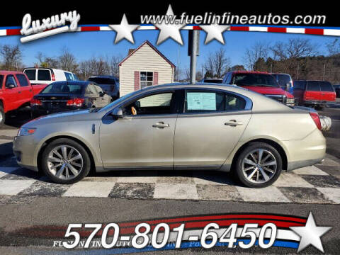 2010 Lincoln MKS for sale at FUELIN FINE AUTO SALES INC in Saylorsburg PA