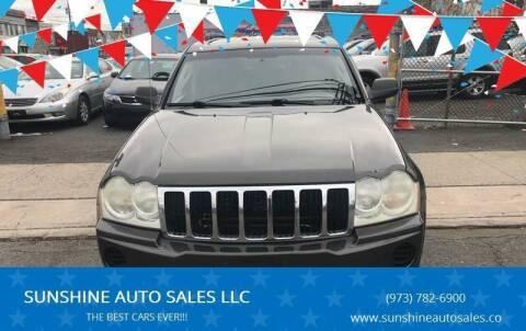 2006 Jeep Grand Cherokee for sale at SUNSHINE AUTO SALES LLC in Paterson NJ