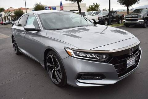 2019 Honda Accord for sale at DIAMOND VALLEY HONDA in Hemet CA