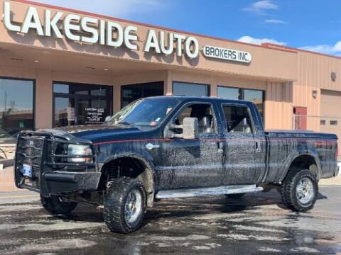 2005 Ford F-250 Super Duty for sale at Lakeside Auto Brokers Inc. in Colorado Springs CO