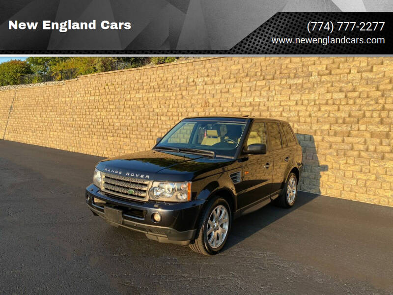 2008 Land Rover Range Rover Sport for sale at New England Cars in Attleboro MA