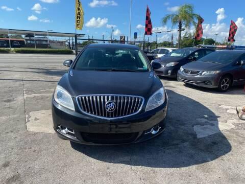 2014 Buick Verano for sale at America Auto Wholesale Inc in Miami FL