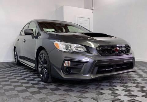 2020 Subaru WRX for sale at Sunset Auto Wholesale in Tacoma WA