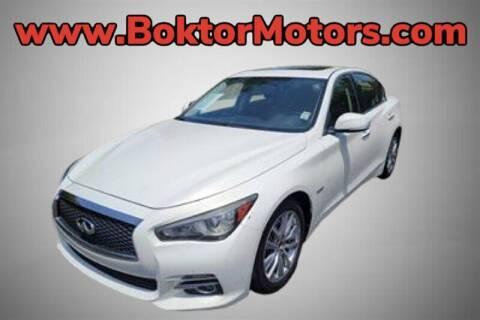 2014 Infiniti Q50 Hybrid for sale at Boktor Motors in North Hollywood CA