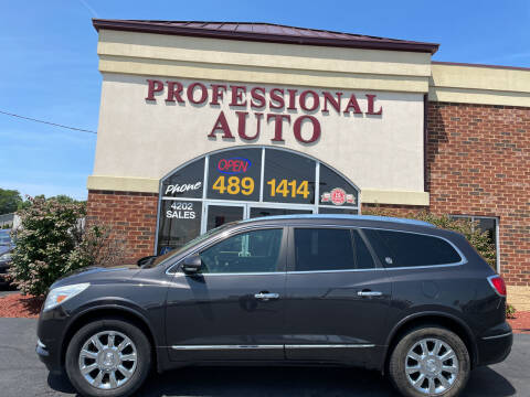 2015 Buick Enclave for sale at Professional Auto Sales & Service in Fort Wayne IN
