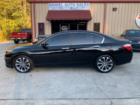 2015 Honda Accord for sale at Daniel Used Auto Sales in Dallas GA