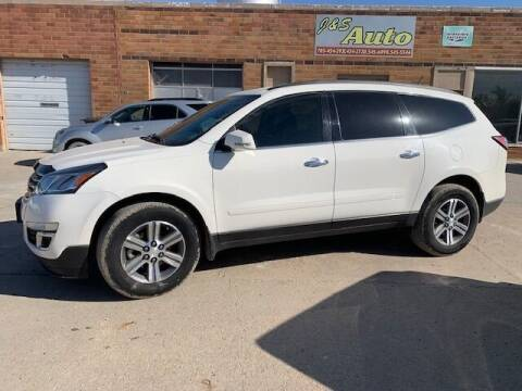 2015 Chevrolet Traverse for sale at J & S Auto in Downs KS