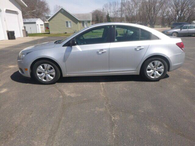 2014 Chevrolet Cruze for sale at JIM WOESTE AUTO SALES & SVC in Long Prairie MN