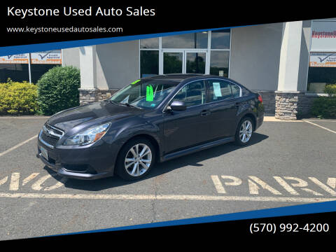2013 Subaru Legacy for sale at Keystone Used Auto Sales in Brodheadsville PA