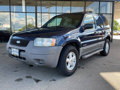 2002 Ford Escape for sale at South Commercial Auto Sales in Salem OR