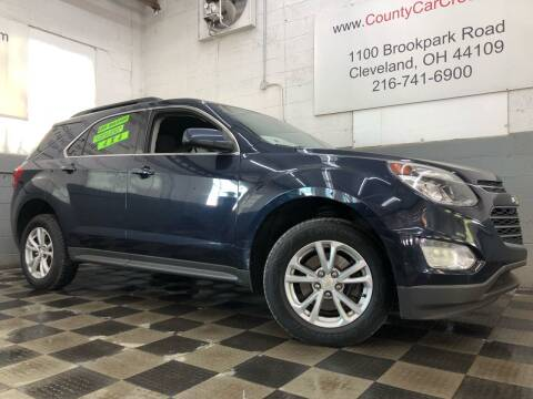 2017 Chevrolet Equinox for sale at County Car Credit in Cleveland OH