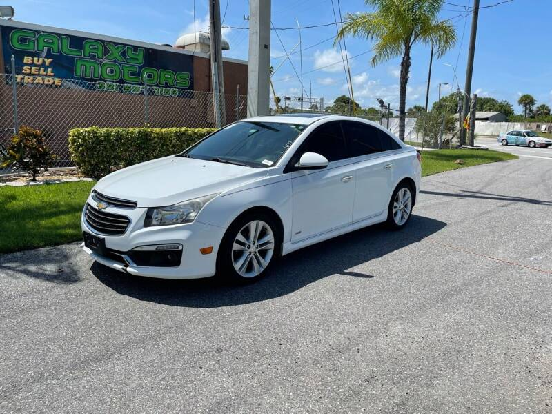 2015 Chevrolet Cruze for sale at Galaxy Motors Inc in Melbourne FL