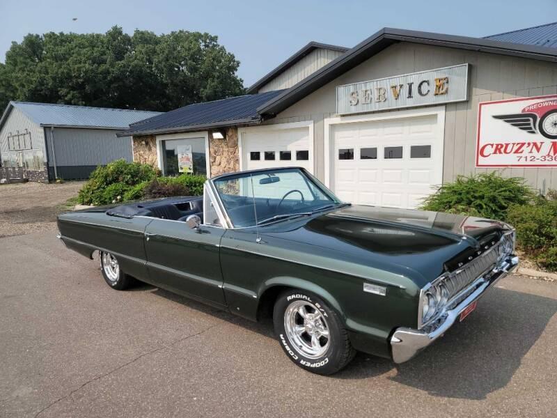 1965 Dodge CUSTOM 880 for sale at CRUZ'N MOTORS - Classics in Spirit Lake IA