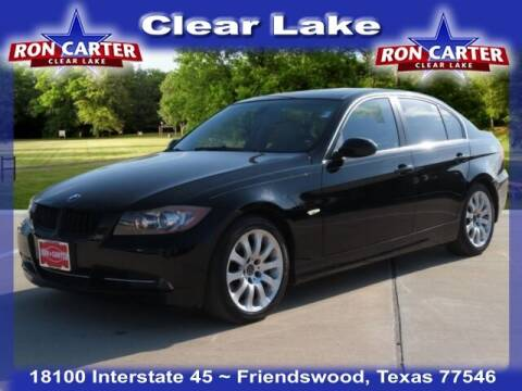 2007 BMW 3 Series for sale at Ron Carter  Clear Lake Used Cars in Houston TX
